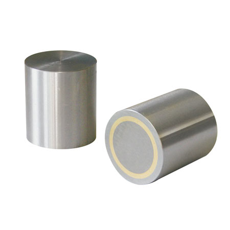 Alnico deep pot magnet - zinc plated