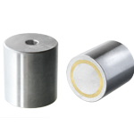 Alnico deep pot magnet - threaded