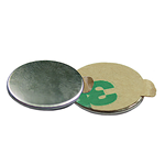 Neodymium adhesive backed disc magnet